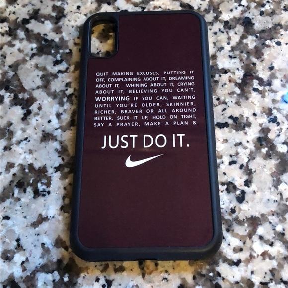 half off 2cdf6 15163 iPhone X Nike case